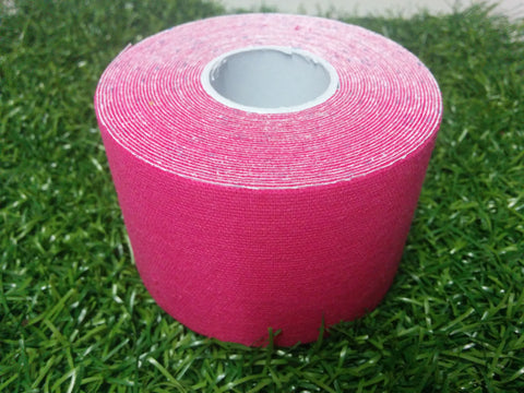Pink - 50mm x 5m - Premium Kinesiology Tape - One Box of 24 Rolls