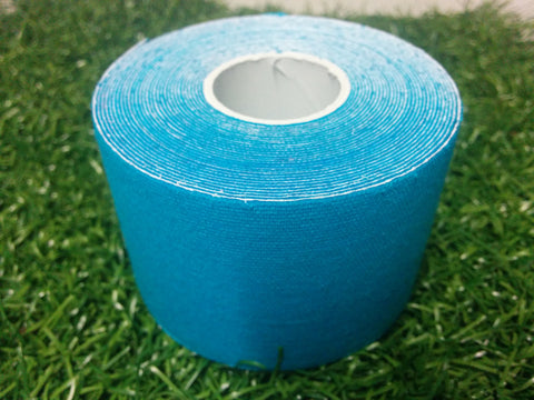 Light Blue - 50mm x 5m - Premium Kinesiology Tape - One Box of 24 Rolls