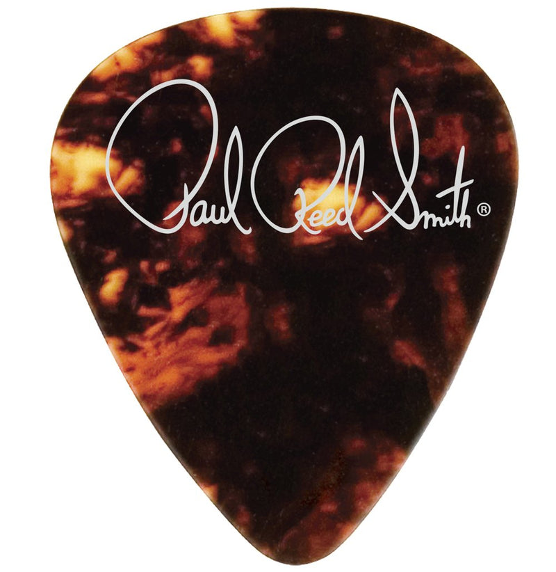 White Celluloid Pearloid Picks 12-Pack