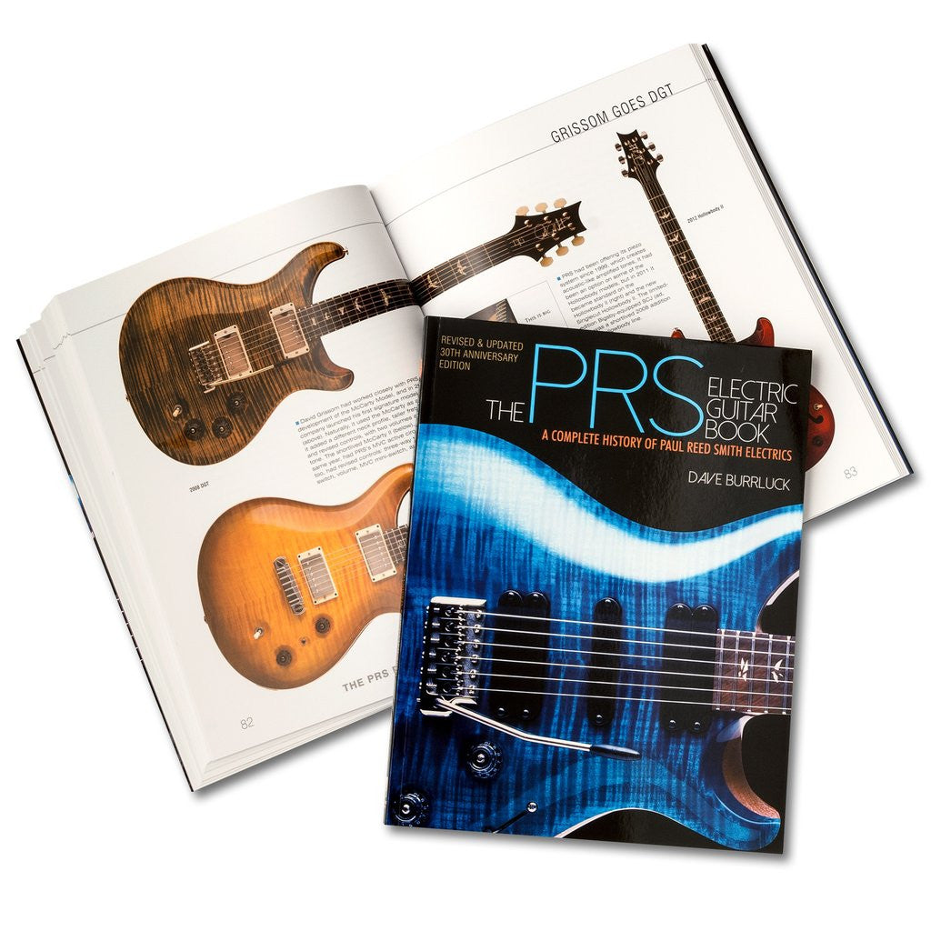 2014 Edition Of The Prs Electric Guitar Book By Parts