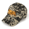 Block Logo Camo Baseball Hat