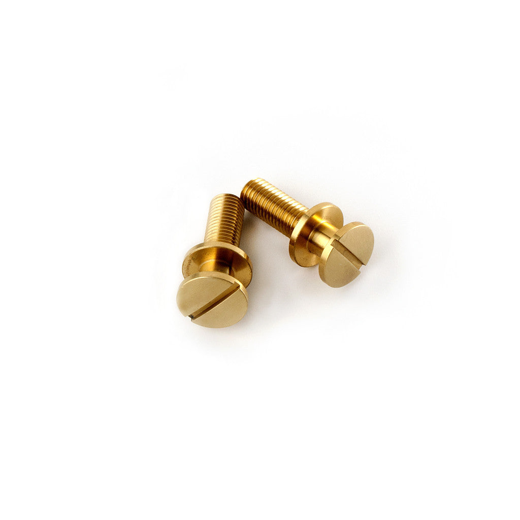 Stoptail Unplated Bridge Studs (Set of 2)