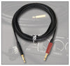 PRS Instrument Cable, Straight Jack to Straight Silent Jack - 18 Feet