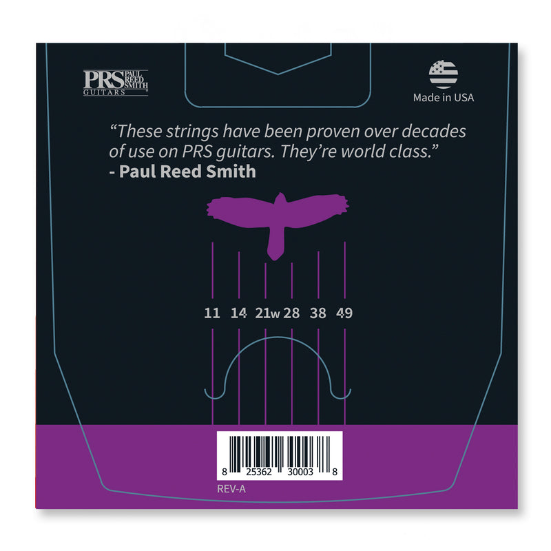 PRS Classic Medium Guitar Strings 11-49