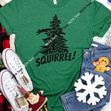 Load image into Gallery viewer, Squirrel (Christmas Vacation) T-shirt