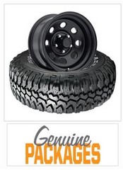 Tire and wheel packages