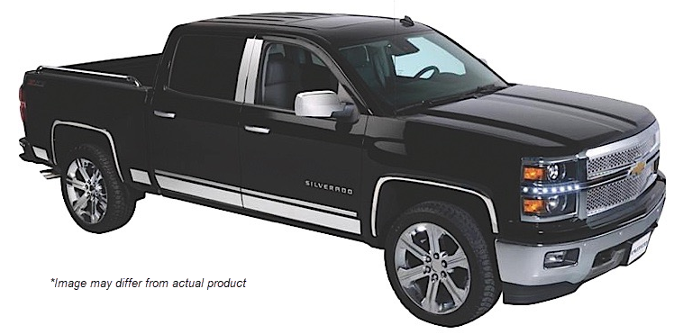 Willmore 10 piece rocker panel set for Chevrolet Avalanche