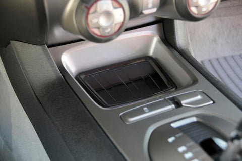 Camaro LS/RS Console Tray 10-13 Chevrolet Camaro LS/RS Aluminum Powdercoat Black T1 Series T-REX Grilles