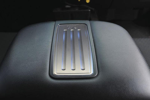 Avalance/Tahoe/Suburban Center Console Arm Rest Trim 07-13 Chverolet Avalance/Tahoe/Suburban W/LT Package Aluminum Machined T1 Series T-REX Grilles