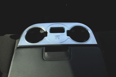 Avalance/Tahoe/Suburban Console Cup Holder 07-13 Chverolet Avalance/Tahoe/Suburban W/Flip Down 3rd Seat Aluminum Machined T1 Series T-REX Grilles