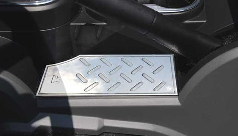 Wrangler Center Console Plate 07-15 Jeep Wrangler Aluminum Machined T1 Series T-REX Grilles