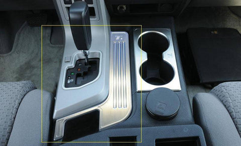 Tundra Center Console Arm Rest Trim 07-09 Toyota Tundra Aluminum Machined T1 Series T-REX Grilles