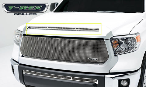 Tundra Grille 14-17 Toyota Tundra Stainless Polished 1 Piece T1 Series T-REX Grilles
