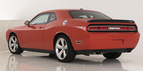 Challenger Tail Light Trim 09-14 Dodge Challenger Stainless Polished 4 Piece T1 Series T-REX Grilles