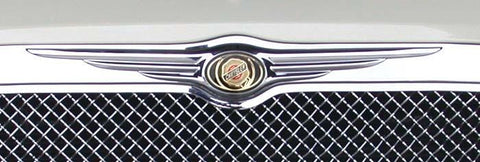 Chrysler 300 All Grille Emblem 05-10 Chrysler 300 All Plastic Chrome T-REX Grilles