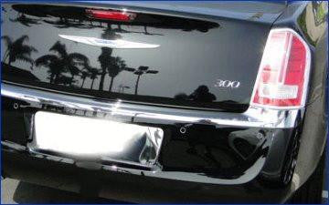 QAA PART  LP51760 fits 300 2011-2014 CHRYSLER (1 Pc: Stainless Steel License Plate Bezel, 4-door) LP51760