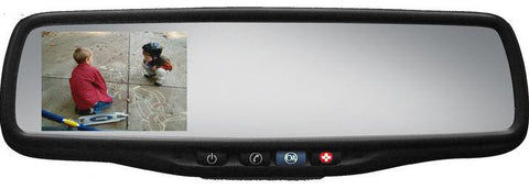 "Gentex Auto-Dimming Rearview Mirror w/ 3.5"" Rear Vision Camera Display & OnStar® - Auto-Truck-Accessories  - 1"