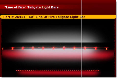 "RECON 26411 - 60"" Line Of Fire Tailgate Light Bar - Auto-Truck-Accessories  - 1"