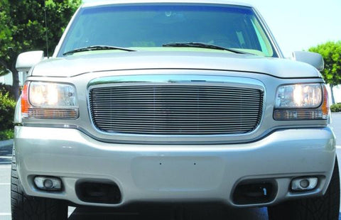 Escalade Grille Insert 99-00 Cadillac Escalade Aluminum Polished Billet Series T-REX Grilles