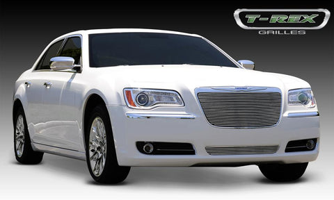 Chrysler 300 All Grille Insert 11-14 Chrysler 300 All Aluminum Polished Billet Series T-REX Grilles