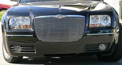 Chrysler 300 All Grille Insert 05-10 Chrysler 300 All Aluminum Polished Billet Series T-REX Grilles
