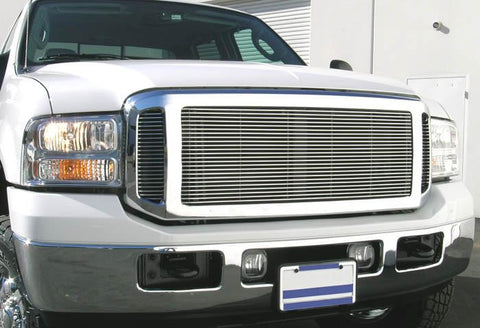 Super Duty Grille Insert 05-07 Ford Super Duty Aluminum Polished Billet Series T-REX Grilles
