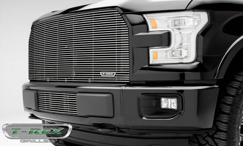 F-150 Grille 15-17 Ford F-150 Aluminum Polished Billet Series T-REX Grilles