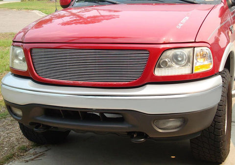 F-150/Expdition Grille Insert 97-02 Ford F-150/Expdition All Models Aluminum Polished Billet Series T-REX Grilles