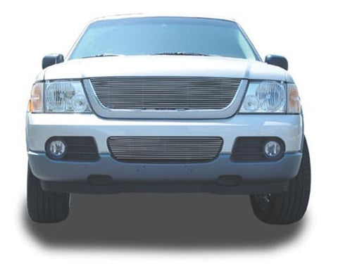 Explorer Grille Insert 02-05 Ford Explorer Aluminum Polished Billet Series T-REX Grilles
