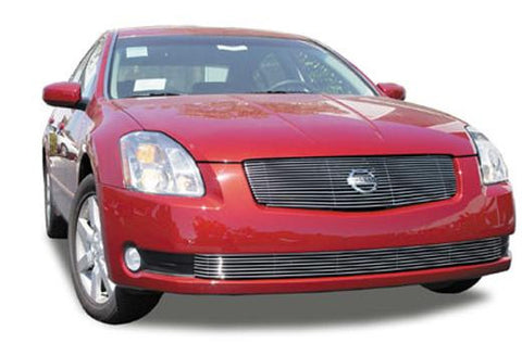 Maxima Grille Insert 04-06 Nissan Maxima Aluminum Polished 1 Piece Billet Series T-REX Grilles