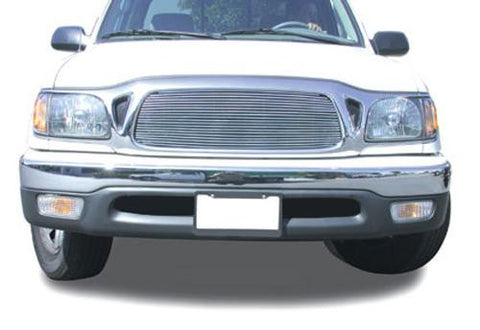 Tacoma Grille Insert 01-04 Toyota Tacoma Aluminum Polished Billet Series T-REX Grilles