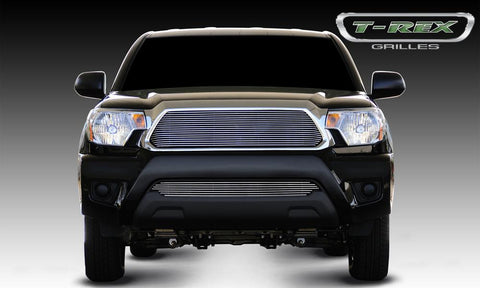 Tacoma Grille Insert 12-15 Toyota Tacoma Aluminum Polished Billet Series T-REX Grilles