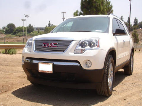 Acadia Grille Overlay 07-12 GMC Acadia Aluminum Polished Billet Series T-REX Grilles