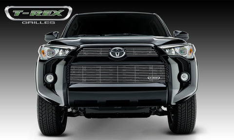 4Runner Grille 14-18 Toyota 4Runner Aluminum Polished 3 Piece Billet Series T-REX Grilles