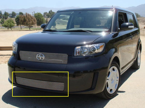 Scion Bumper Grille Insert 08-10 Scion XB Aluminum Polished Billet Series T-REX Grilles