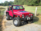 TJ Series Louvered Hood Panel for 03-06 Wrangler