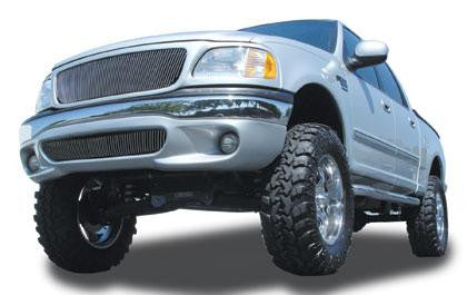 F-150/Expdition Grille Vertical Insert 97-02 Ford F-150/Expdition Aluminum Polished Billet Series T-REX Grilles