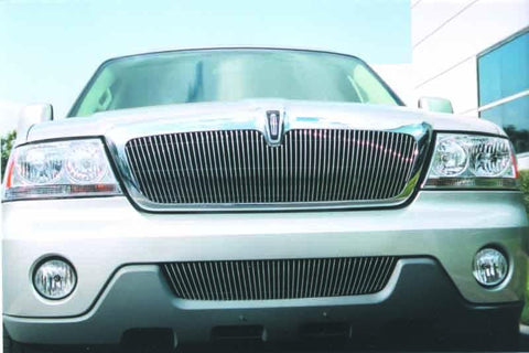 Aviator Grille Insert 03-06 Lincoln Aviator Aluminum Polished Billet Series T-REX Grilles
