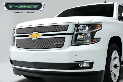 Suburban/Tahoe Grille 15-18 Chevrolet Suburban/Tahoe Stainless Polished 2 Piece Sport Series T-REX Grilles