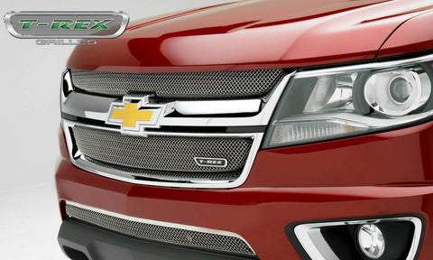 Colorado Grille 15-18 Chevrolet Colorado Stainless Chrome 1 Piece Sport Series T-REX Grilles
