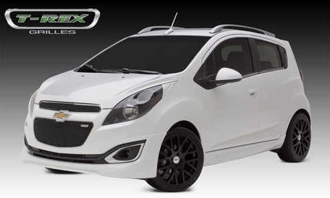 Spark Grille 13-14 Chevrolet Spark Steel Powdercoat Black Sport Series T-REX Grilles