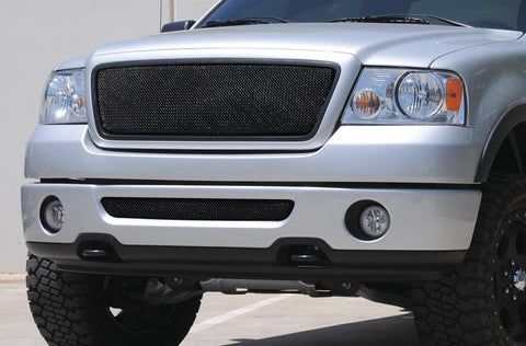 F-150 Grille 04-08 Ford F-150 Mild Steel Powdercoat Black Sport Series T-REX Grilles