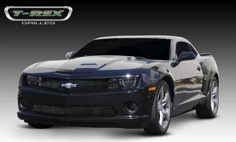 Camaro All Grille 10-13 Chevrolet Camaro All Mild Steel Powdercoat Black Upper Class Series T-REX Grilles