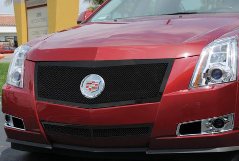 CTS Grille 08-13 Cadillac CTS Mild Steel Powdercoat Black Upper Class Series T-REX Grilles