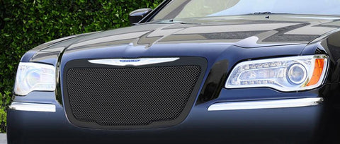 Chrysler 300 All Grille 11-14 Chrysler 300 All Mild Steel Powdercoat Black Upper Class Series T-REX Grilles