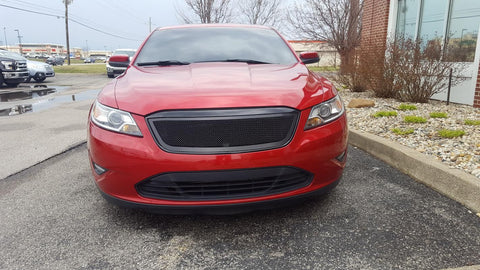 Taurus SHO Grille 10-12 Ford Taurus SHO Mild Steel Powdercoat Black Upper Class Series T-REX Grilles