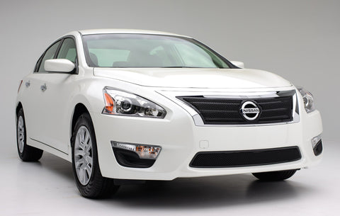 Altima 2.5 S Grille 13-15 Nissan Altima 2.5 S Mild Steel Powdercoat Black Upper Class Series T-REX Grilles