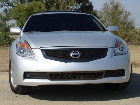 Altima Grille 08-09 Nissan Altima Coupe Mild Steel Powdercoat Black Upper Class Series T-REX Grilles