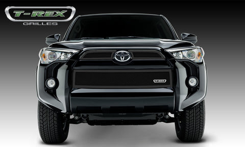 4Runner Grille 14-18 Toyota 4Runner Mild Steel Powdercoat Black 3 Piece Upper Class Series T-REX Grilles