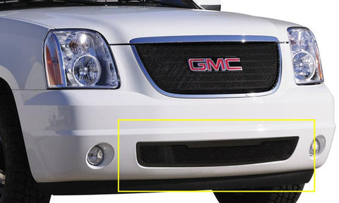 Yukon Grille Insert 07-14 GMC Yukon Mild Steel Powdercoat Black Upper Class Series T-REX Grilles